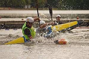 Canoe polo - Finnish canoe polo championships, Lahti, Finland, 2010