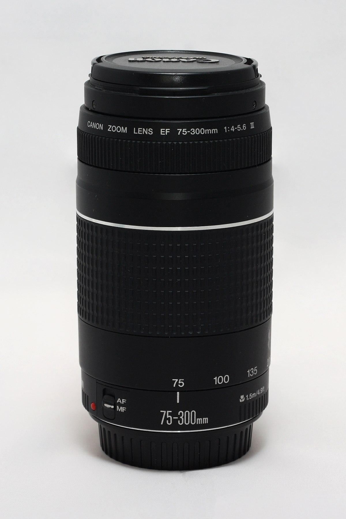Canon EF 75–300mm lens - Wikipedia