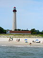 Cape May light from the sea.JPG