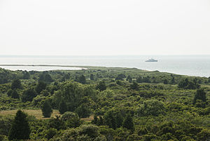 Chappaquiddick Island - Looking north from Cape Poge Lighthouse