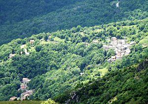 Caprauna - Panorama from Monte Dubasso