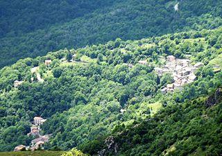 Caprauna Comune in Piedmont, Italy