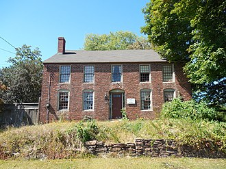 National Register of Historic Places listings in Windsor, Connecticut - Image: Capt Benjamin Allyn II House, Windsor CT