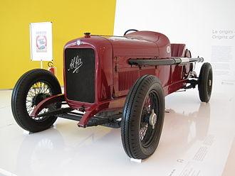 ALFA 40/60 HP - 1921 ALFA 40/60 HP tipo corsa