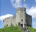Cardiff Castle keep 2010.jpg