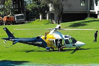 Westmead Hospital - CareFlight air ambulance