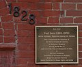 Carl Lutz Righteous Among Nations Plaque Washington, DC.jpg