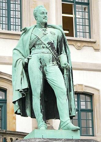 Charles, Count Alten - Statue in Hannover, Germany (Sculptor: Heinrich Kümmel).
