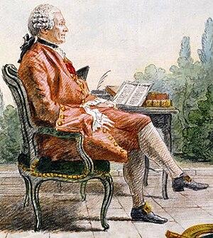 Charles Marie de La Condamine - La Condamine (Carmontelle 1760)