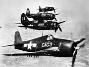 Carrier Air Group 3 aircraft in flight 1946