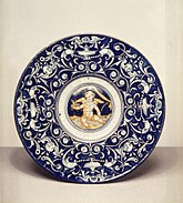 Casa Pirota Workshop - Plate with Cupid - Walters 481339.jpg