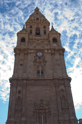 Murcia Cathedral - Bell tower.
