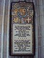 Cathédrale Sainte-Croix Orléans WWI Memorial.JPG