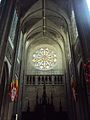 Cathédrale Sainte-Croix d'Orléans rose window1.JPG