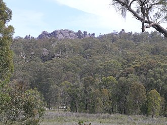 Cathedral Rock National Park - Granite tors in Cathedral Rock National Park
