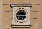Cathedral of the Divine Saviour - a small window from the back, Ostrava, Czech Republic 05.jpg