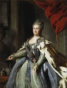 Catherine II by F.Rokotov after Roslin (c.1770, Hermitage).jpg