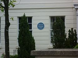 Photo of William Cattley blue plaque