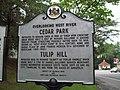 Cedar Park Marker May 10.JPG