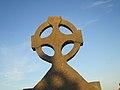 Celtic cross at Teachlach Einne (6008392108).jpg