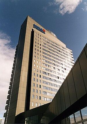 Česká spořitelna - Česká spořitelna headquarters in Prague.