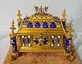Ceremonial box for Sir John Fox Burgoyne, J. W. Benson, London, 1868, gold, enamel - Hessisches Landesmuseum Darmstadt - Darmstadt, Germany - DSC01072.jpg