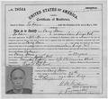 Certificate of Residence - NARA - 294995.tif