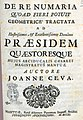 Ceva, Giovanni Benedetto – De re numaria quo ad fieri potuit geometrice tractata, 1711 – BEIC 11375410.jpg