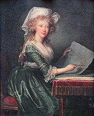 Portrait de Marie-Louise-Amélie, Grande-Duchesse de Toscane