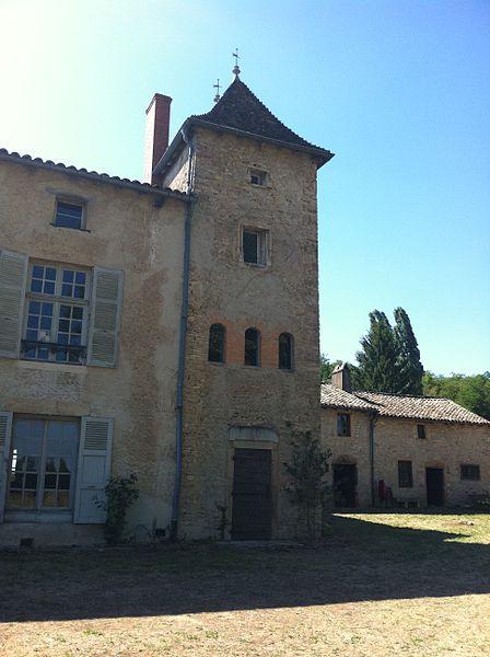 Château de Sancé - vue Est - 2011 (Avant travaux Commune)
