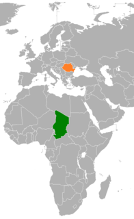 Chad–Romania relations Diplomatic relations between the Republic of Chad and Romania