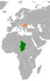 Chad Romania Locator.png