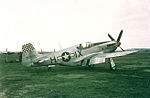 Chalgrove Airfield - 10th Reconnaissance Group - F-6 Mustang 42-103213 2.jpg