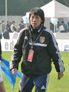 Chan Yuen Ting Chinese football player and coach in Hong Kong