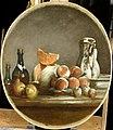 Chardin - Melons, poires, pêches et prunes dit le melon entamé, MI1034.jpg