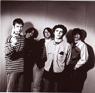 The Charlatans (English band) - The Charlatans during their early days