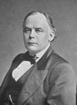 Horatio Bottomley - Charles Bradlaugh, whose facial resemblance to Bottomley helped foster the rumour that he was the latter's biological father