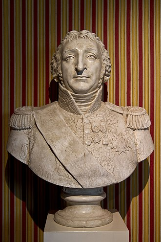 Pierre Augereau - Bust of Charles Pierre François Augereau at the Chateau de Chambord