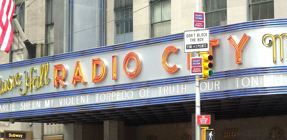 Charlie Sheen Violent Torpedo of Truth marquee RCMH jeh