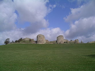 Chartley Castle - Chartley Castle ruins