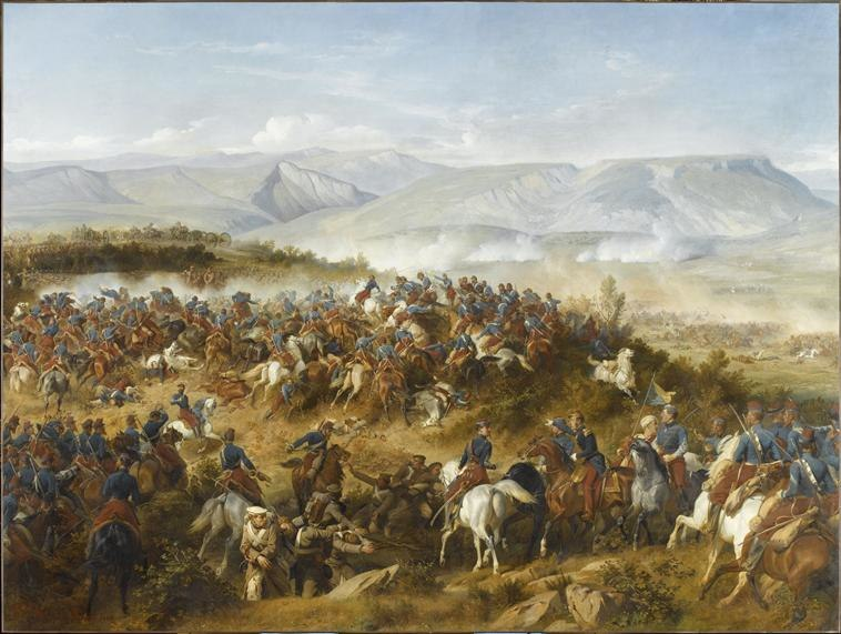 Chasseurs d'Afrique at the battle of Balaklava