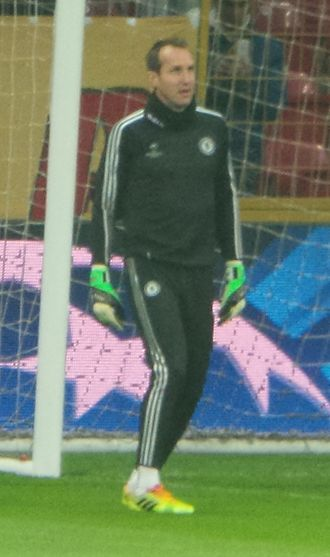 Mark Schwarzer - Schwarzer training for Chelsea in 2014