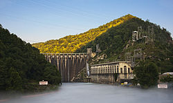 Cheoah Hydroelectric Dam Graham Co NC.jpg