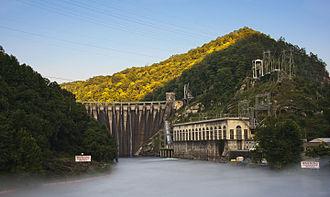 Cheoah Dam - Cheoah Hydroelectric Dam, 2010