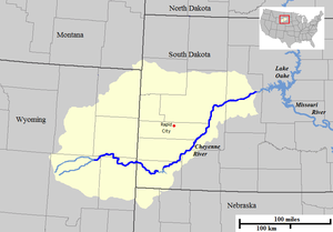 Cheyenne River  Wikipedia