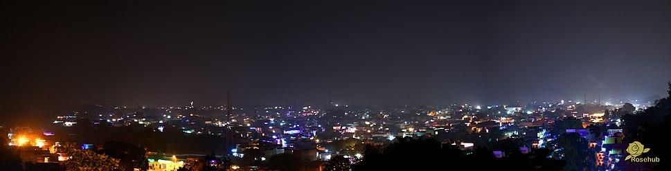 Chhatarpur during Diwali