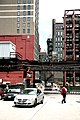 """Chicago (ILL) Downtown, S. Wabash Ave, """" Park 1, the valet & the customer """" 2 (4826344484).jpg"""