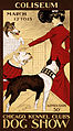 Chicago Kennel Club's Dog Show, advertising poster, 1902.jpg
