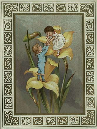 Marcus Ward & Co. - Image: Childrenof Flowers Greenaway