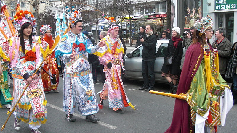 Chinese New Year in Paris, France. (21 February 2010, 14:55)